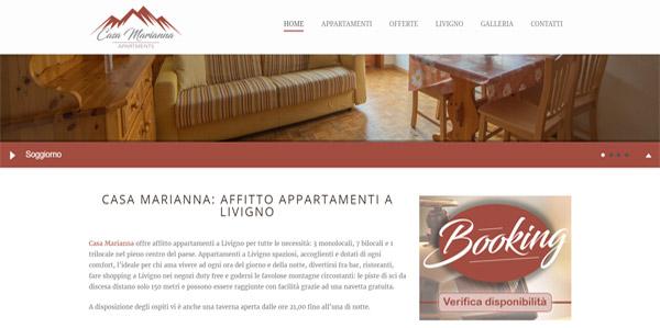 Casa Marianna affitto appartamenti Livigno