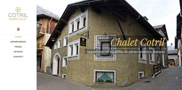 Chalet Cotril affitto appartamenti bormio