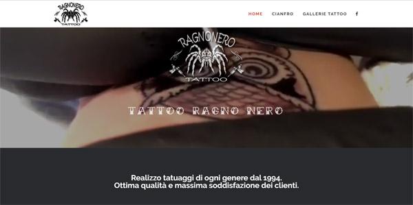 Tattoo Ragno Nero Bormio