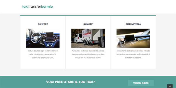 Taxi Transfer Bormio