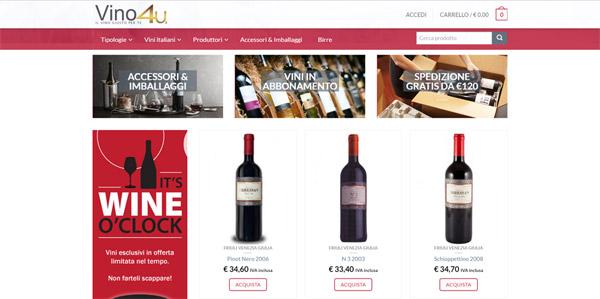 Vino4u.it vendita vino e birra online