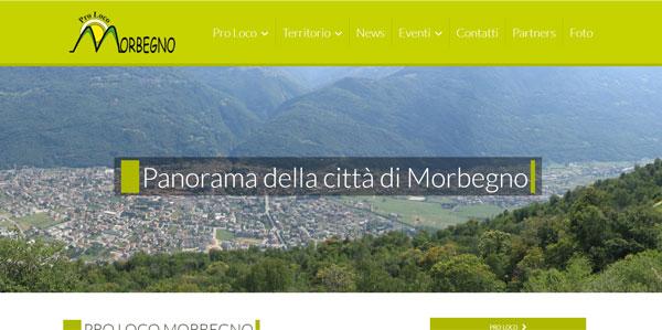SIto web Pro Loco Morbegno