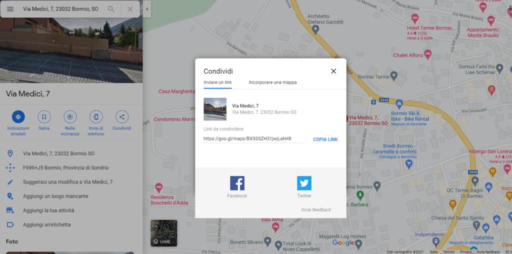 mappe google su wordpress